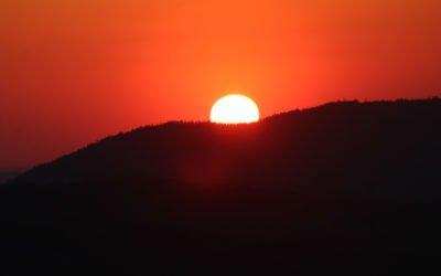 Sonnenuntergangswanderung auf dem Silberberg